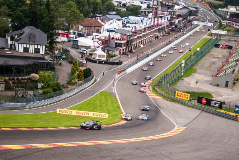 Race one gets underway